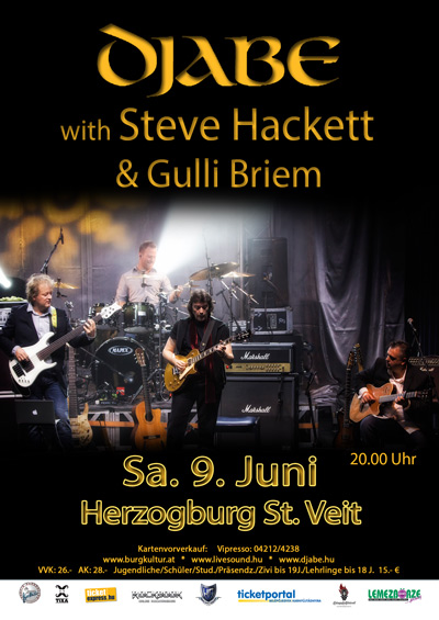 DJABE WITH STEVE HACKETT