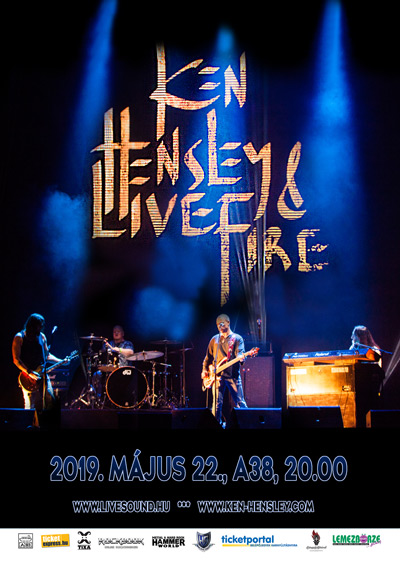 KEN HENSLEY AND LIVE FIRE
