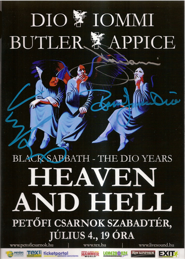 BLACK SABBATH HEAVEN AND HELL