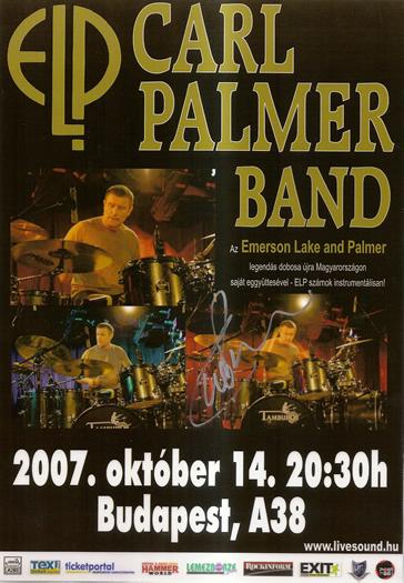 CARL PALMER